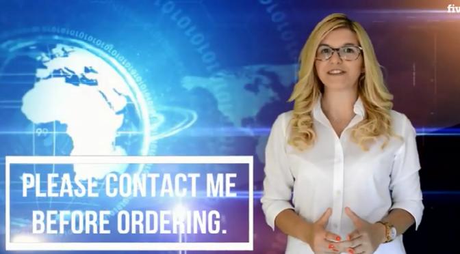 Produce a spokesperson video